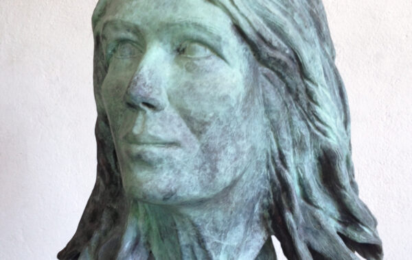 Bronzen portret Sylvana